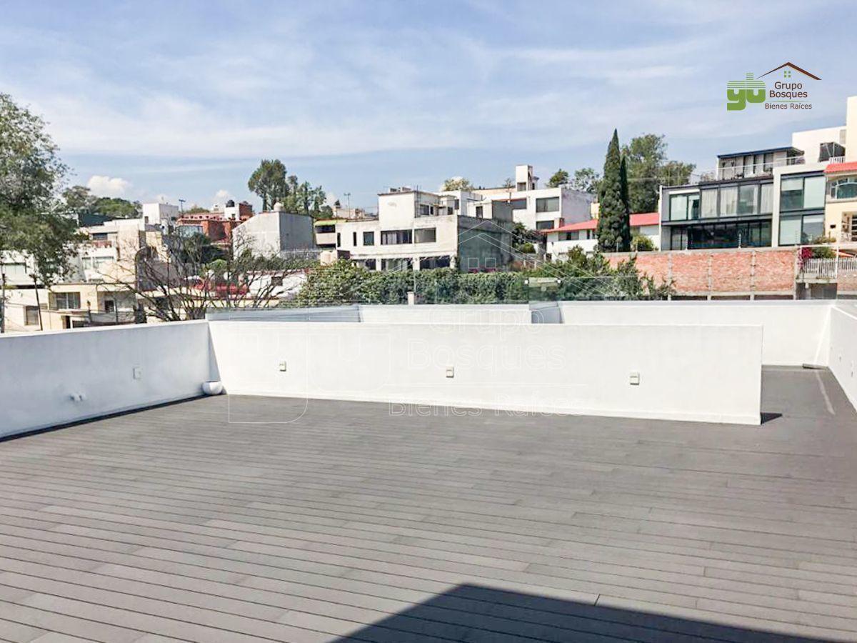 15 de 15: Roof garden.