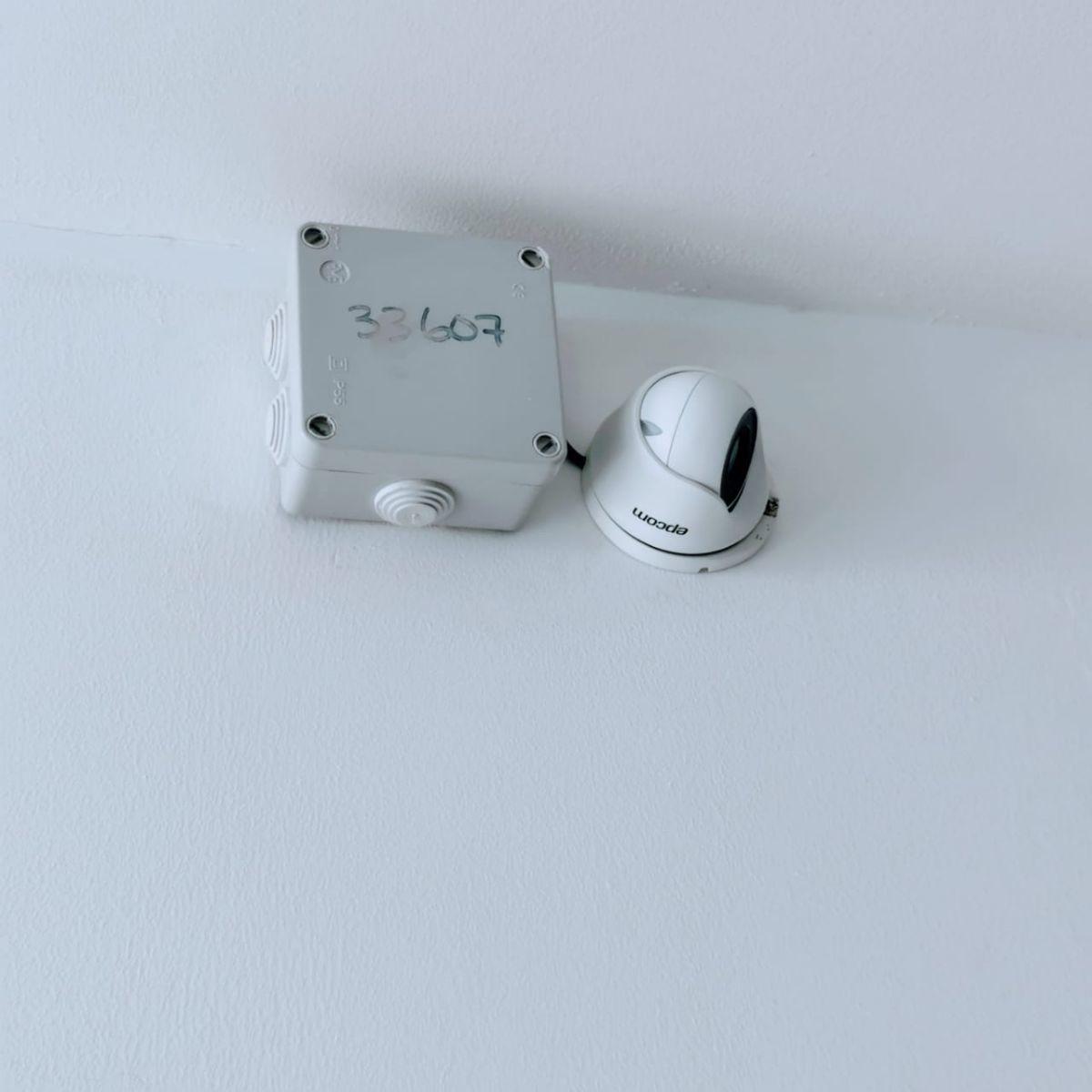 27 de 29: sistema de cámaras de vigilancia