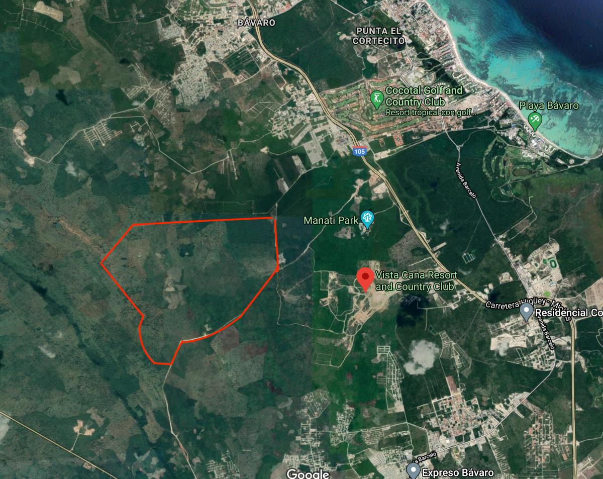 1 de 3: Imagen satelital