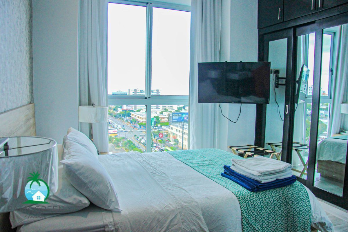 3 of 50: Apartementos naco 1 dormitorio por noche