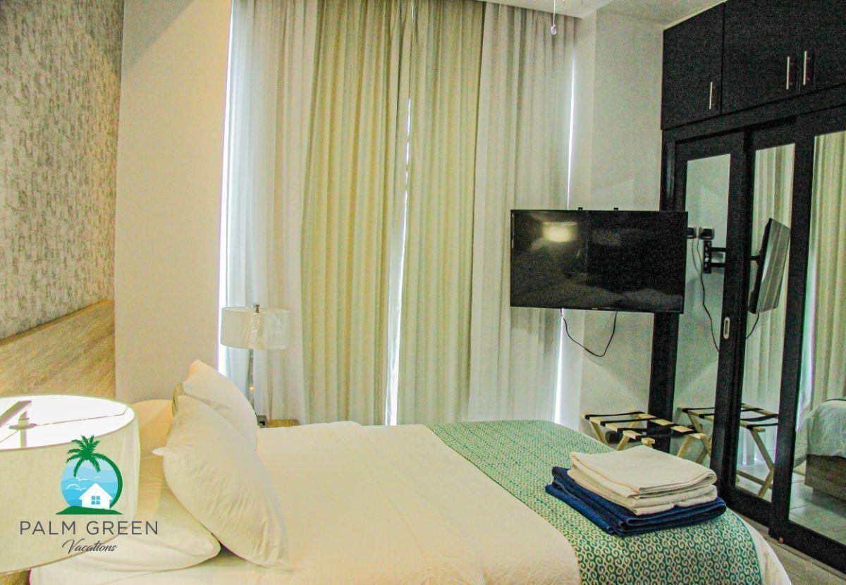 7 of 50: Apartementos naco 1 dormitorio por noche