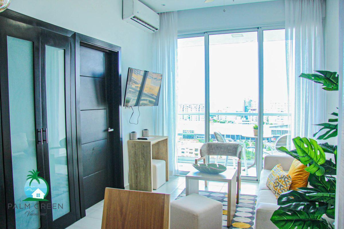 11 of 50: Apartementos naco 1 dormitorio por noche