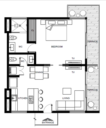 4 of 28: apartment layout