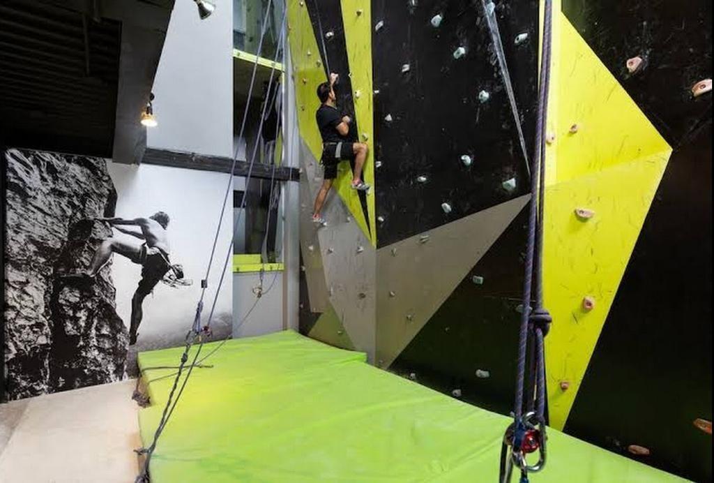 15 of 28: climbing wall