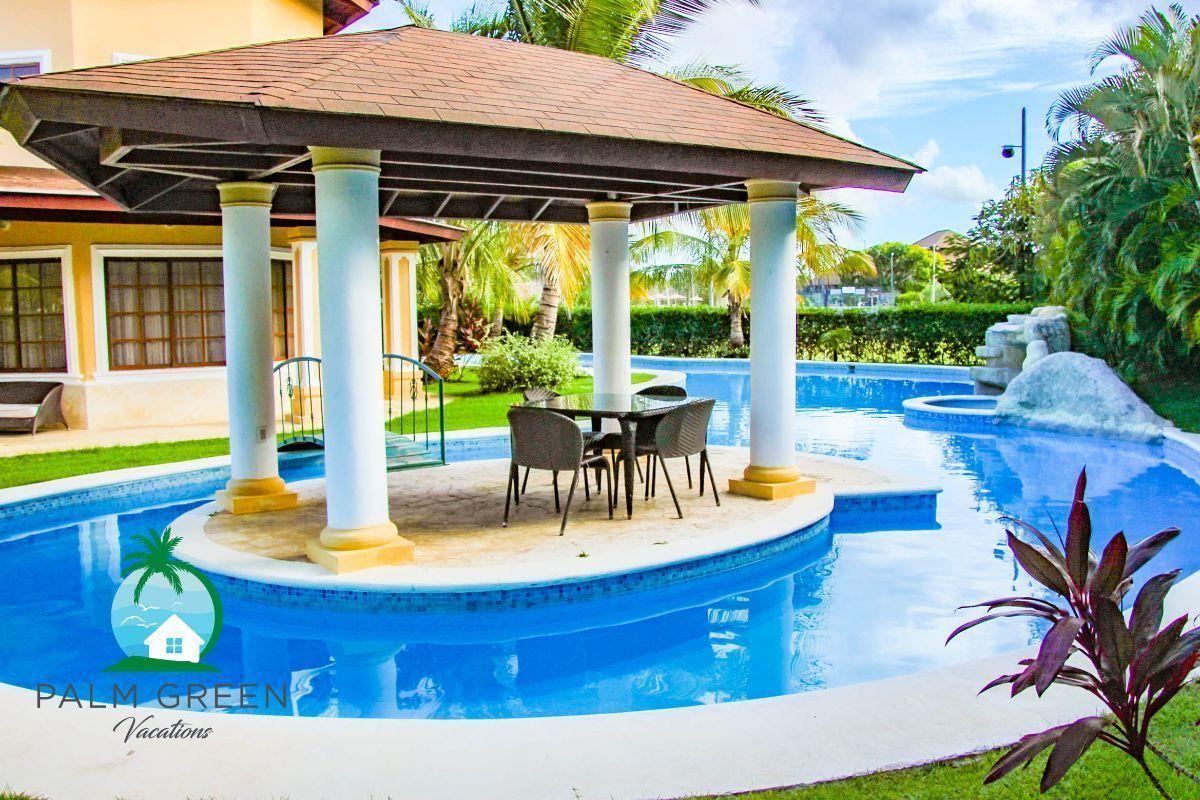 2 de 45: villa en punta cana alquiler vacacional 3 dormitorios Amplia