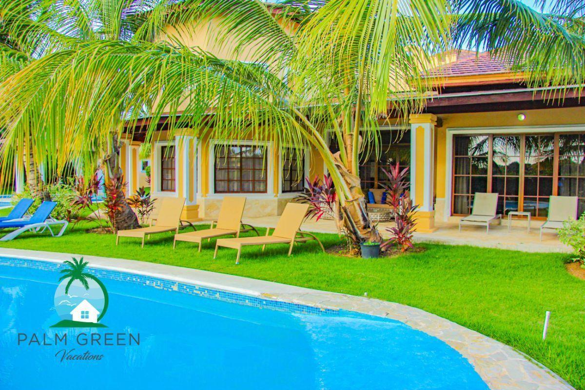 9 de 45: villa en punta cana alquiler vacacional 3 dormitorios Amplia
