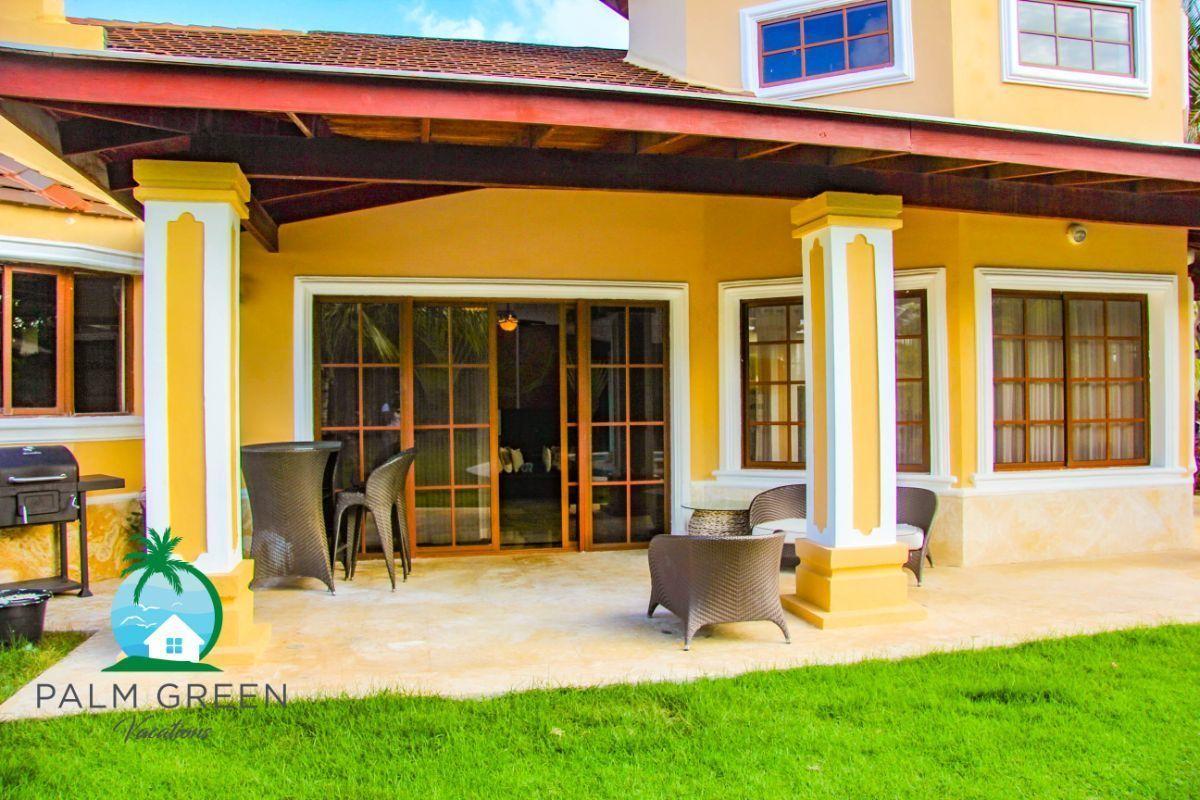 10 de 45: villa en punta cana alquiler vacacional 3 dormitorios Amplia