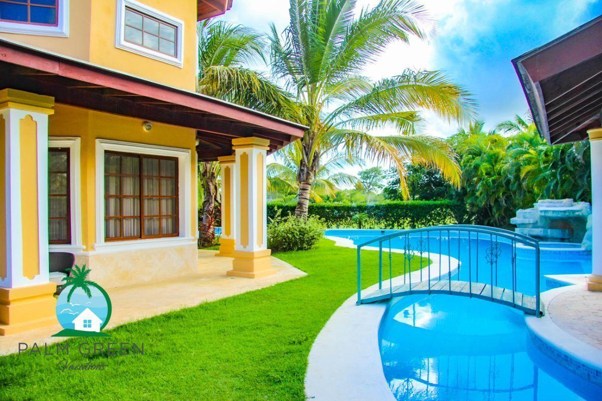 12 de 45: villa en punta cana alquiler vacacional 3 dormitorios Amplia