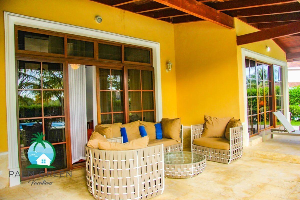 14 de 45: villa en punta cana alquiler vacacional 3 dormitorios Amplia