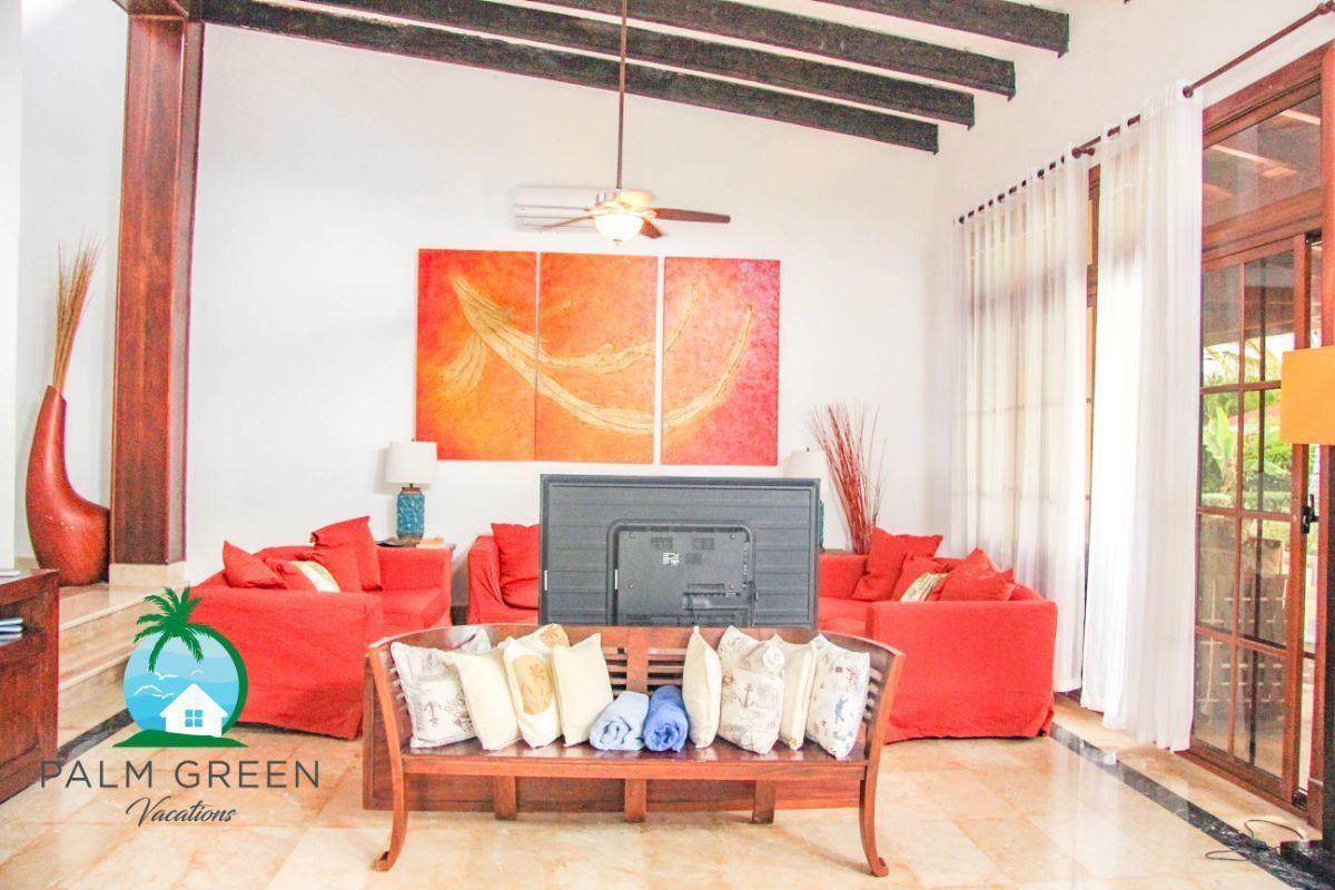 16 de 45: villa en punta cana alquiler vacacional 3 dormitorios Amplia