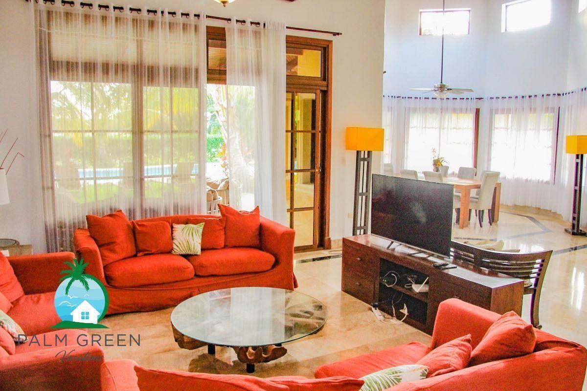 17 de 45: villa en punta cana alquiler vacacional 3 dormitorios Amplia