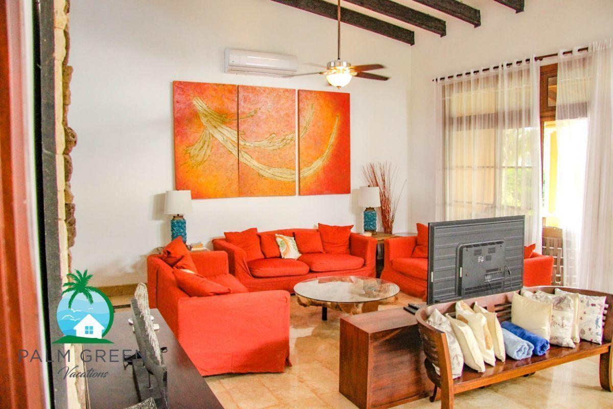 22 de 45: villa en punta cana alquiler vacacional 3 dormitorios Amplia