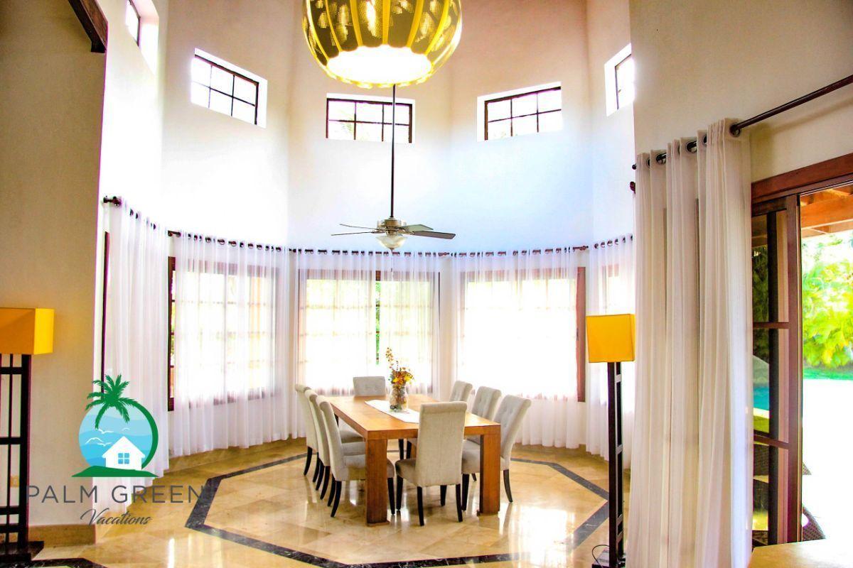 24 de 45: villa en punta cana alquiler vacacional 3 dormitorios Amplia