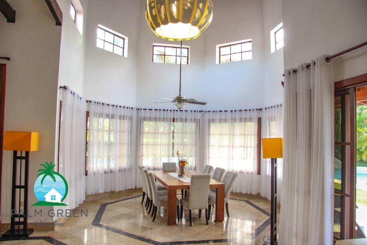 25 de 45: villa en punta cana alquiler vacacional 3 dormitorios Amplia