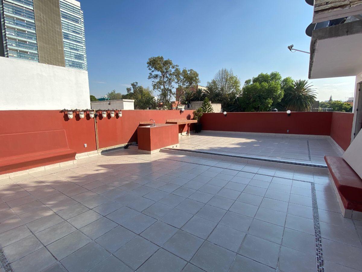 11 de 11: Roof garden común