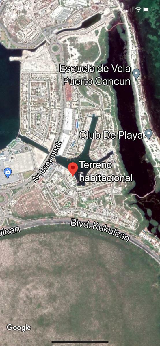 3 de 3: Ubicación privilegiada dentro del proyecto puerto Cancún