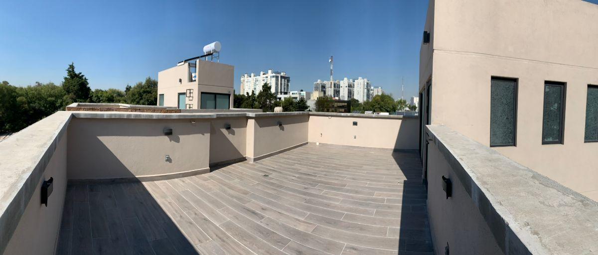 16 de 22: Roof garden de 44.60m2