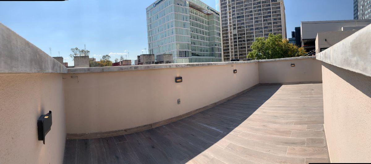 20 de 26: Roof garden privado  de 41.25m2