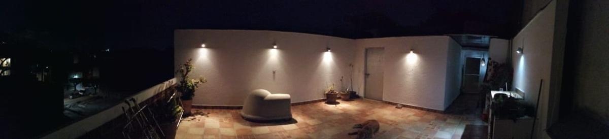 13 de 13: Roof garden privado de noche