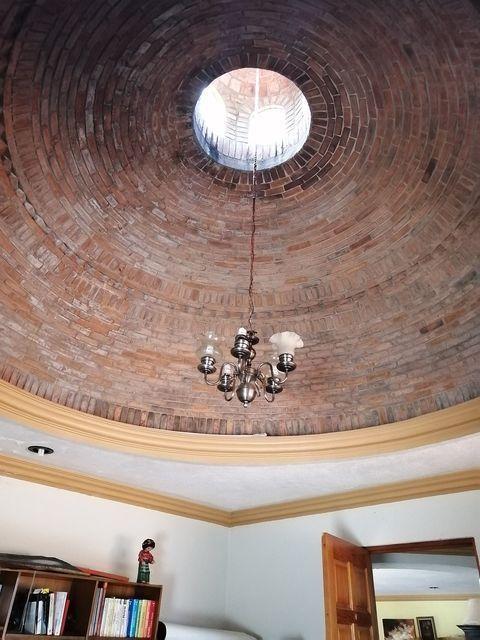 29 de 50: Cupola de tabique en el estudio
