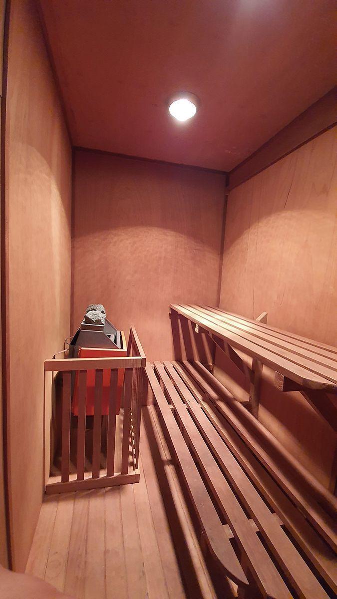 23 de 35: Sauna