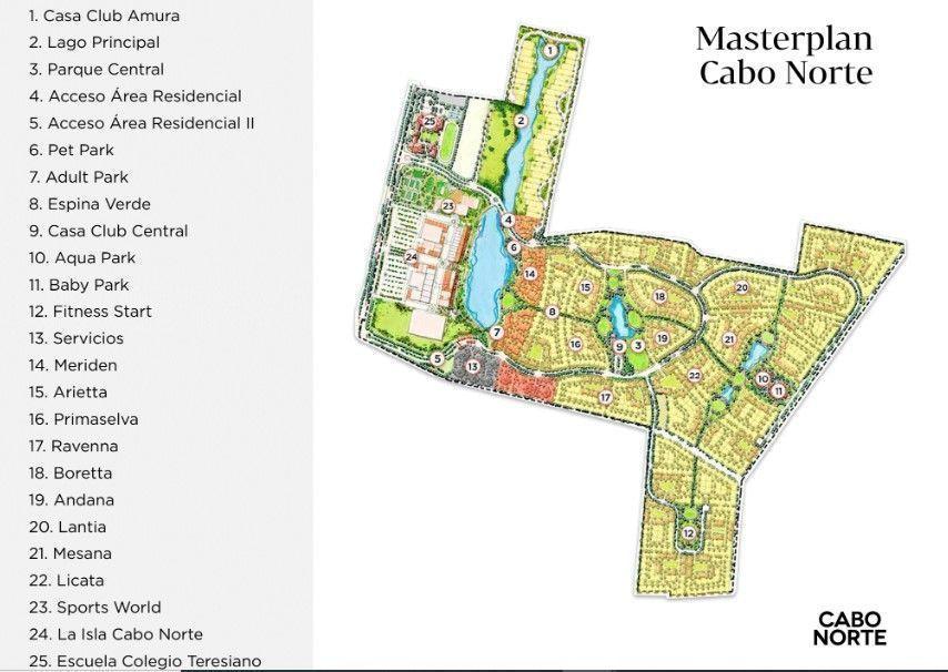 3 de 9: Master Plan Cabo Norte