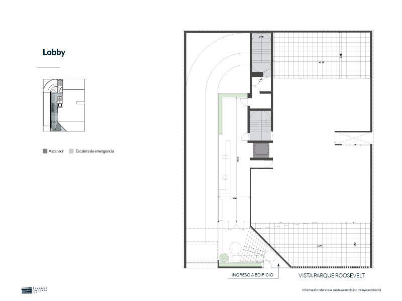 4 de 5: Plano del Lobby