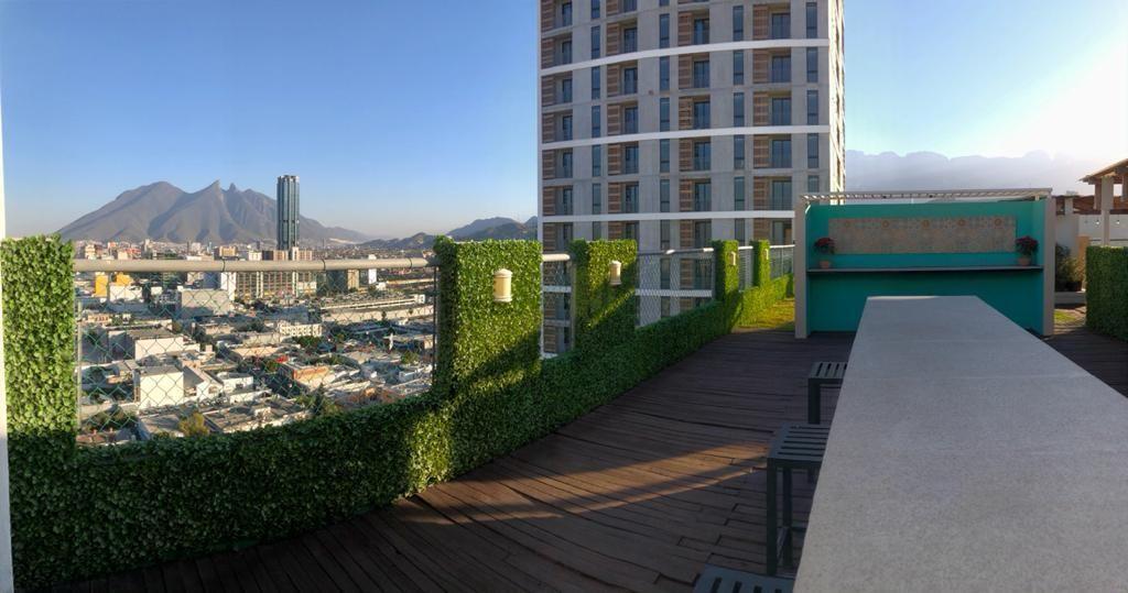 14 de 18: Terraza con vistas espectaculares a todo Monterrey