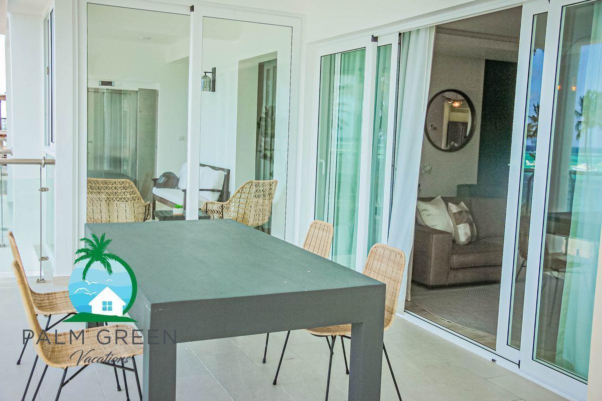 12 de 50: Penthose 3 dormitorios primera linea de playa alquiler vacac