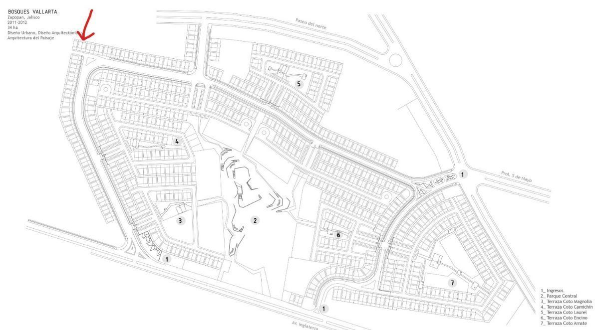 2 de 6: Ubicación en calle privada