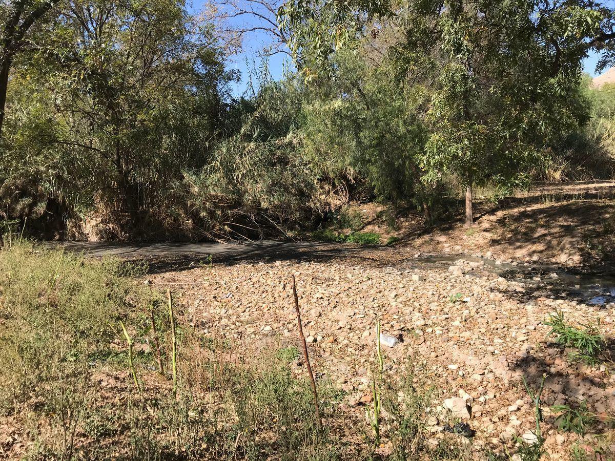 """3 de 6: Parte del río conocida como """"El Charco"""""""