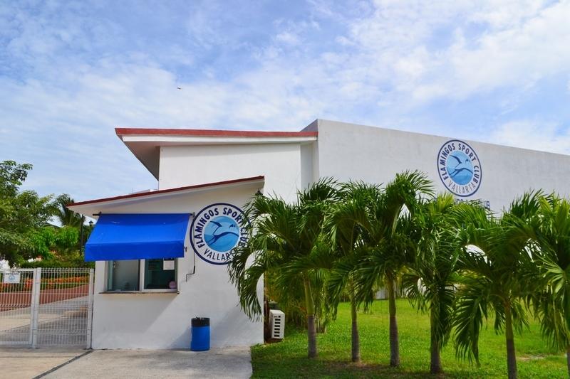 25 de 31: Oficinas del Club Deportivo Flamingos.