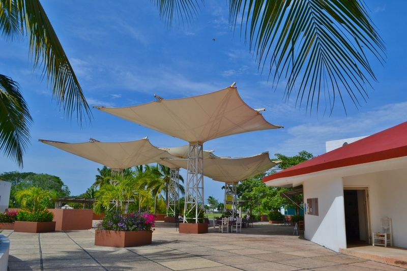 30 de 31: Áreas de descanso del Club Deportivo Flamingos.