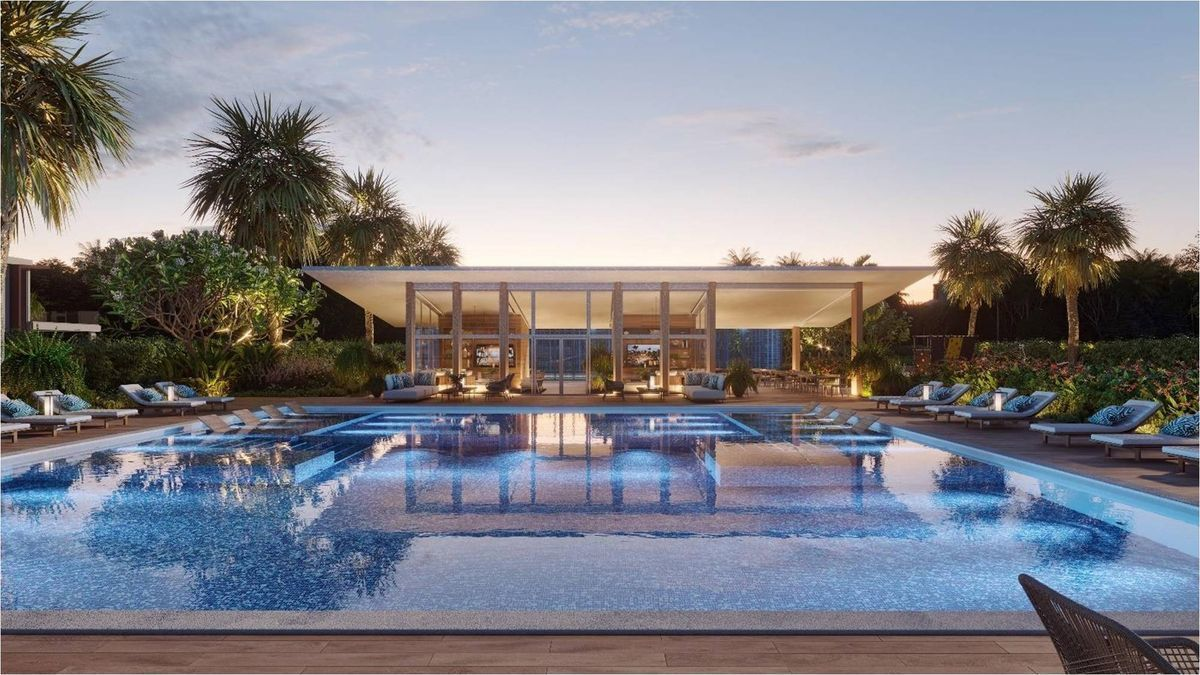 2 de 7: Área de la piscina