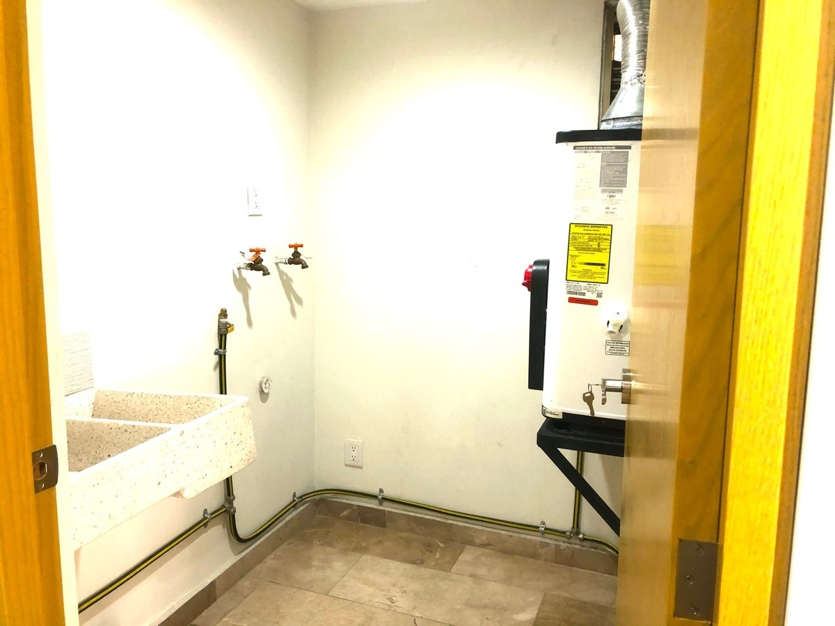 14 de 16: Área de lavado integrada