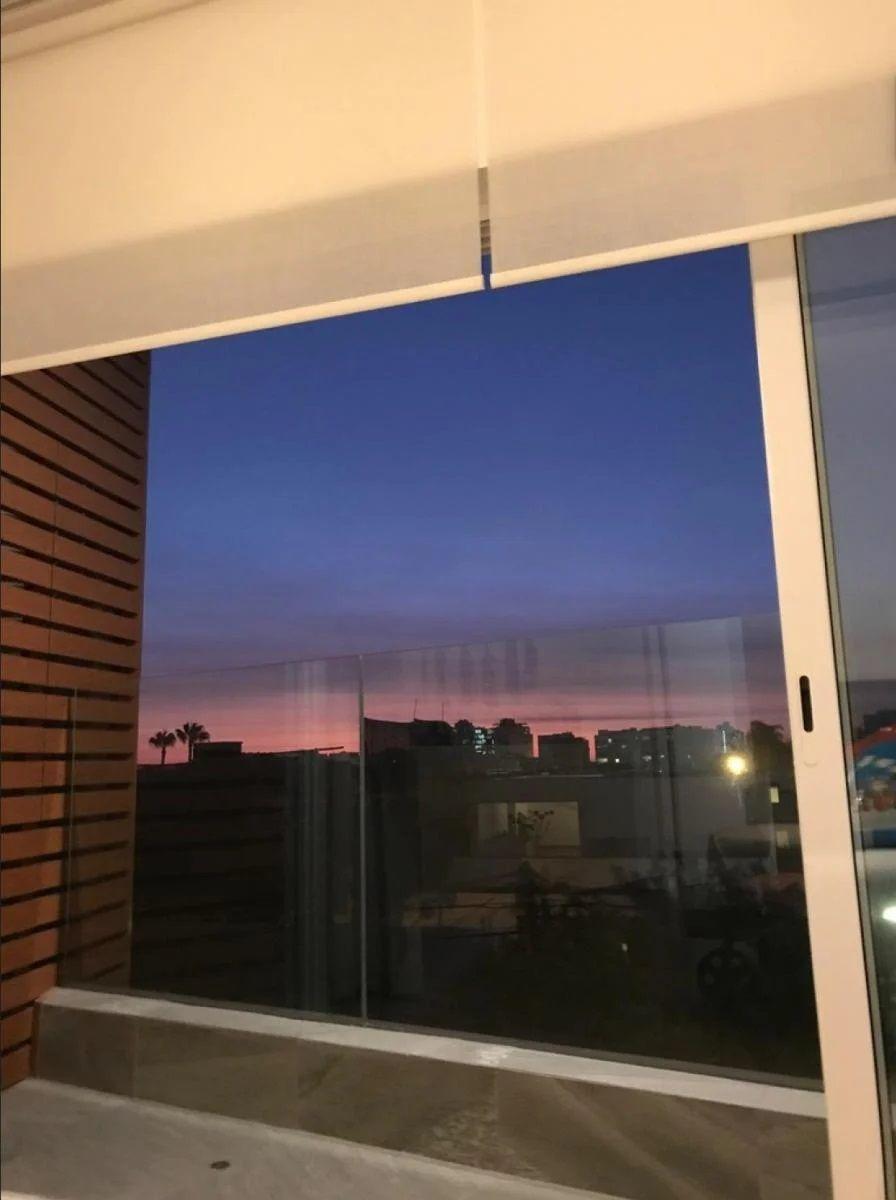 15 de 28: Vista desde el dormitorio principal del departamento