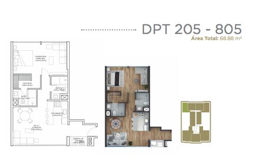 21 de 28: Departamento 205-805.