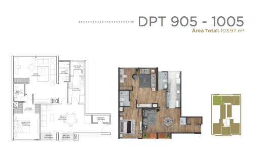 26 de 28: Departamento 905 - 1005.