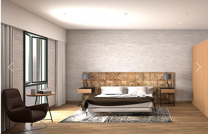 4 de 9: Dormitorio principal.