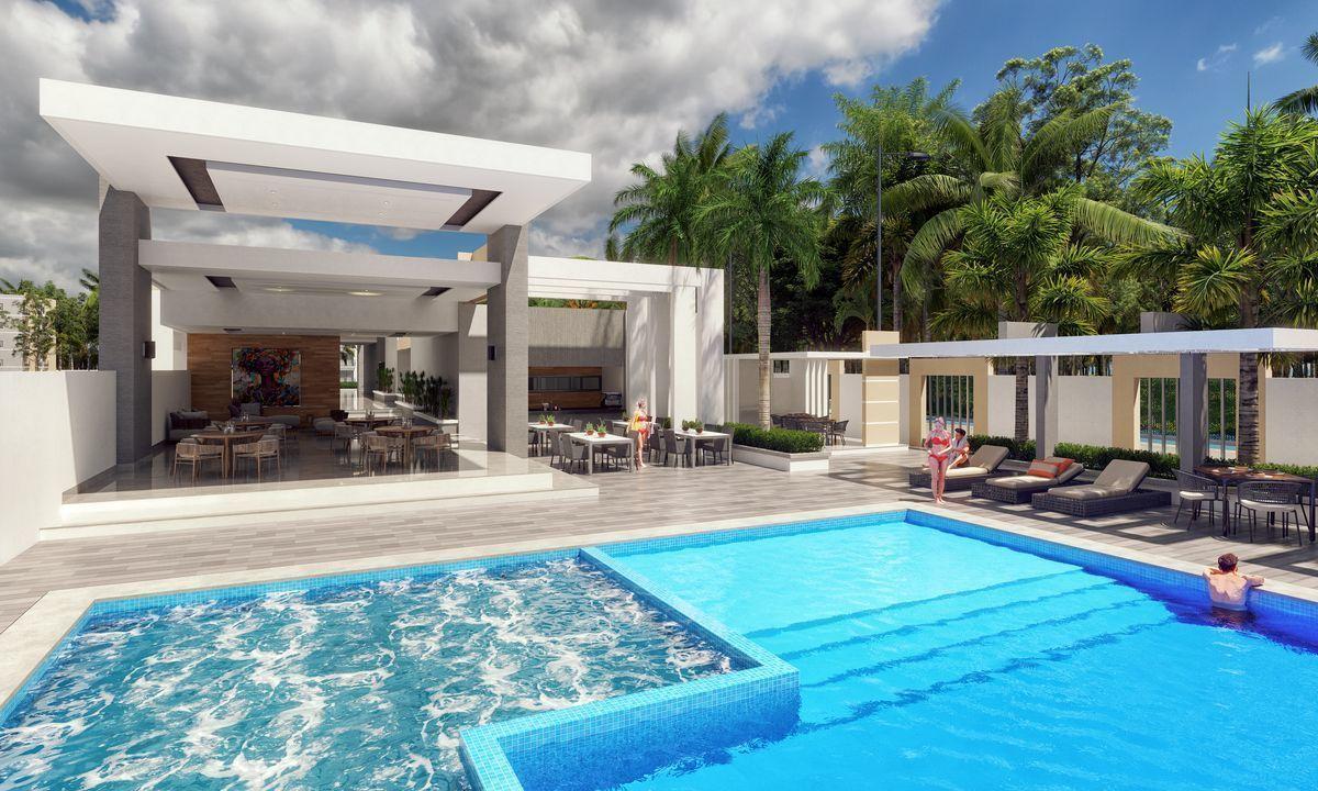 11 de 18: piscina frente al restaurante