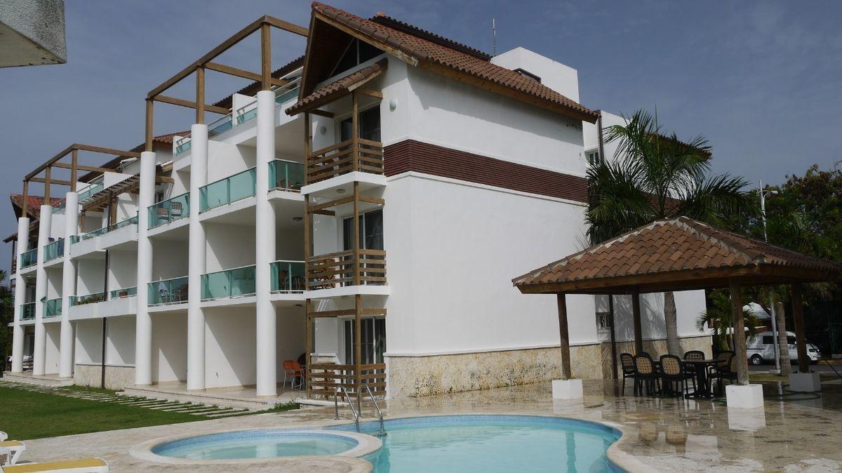 28 de 28: Apartamento punta blanca punta cana primer piso 2 dormitorio