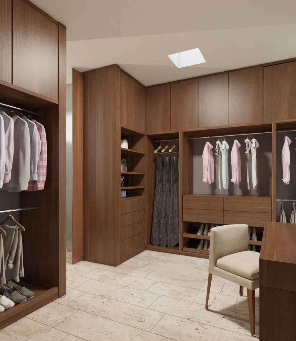 6 de 29: Closet Vestidor Recámara Principal