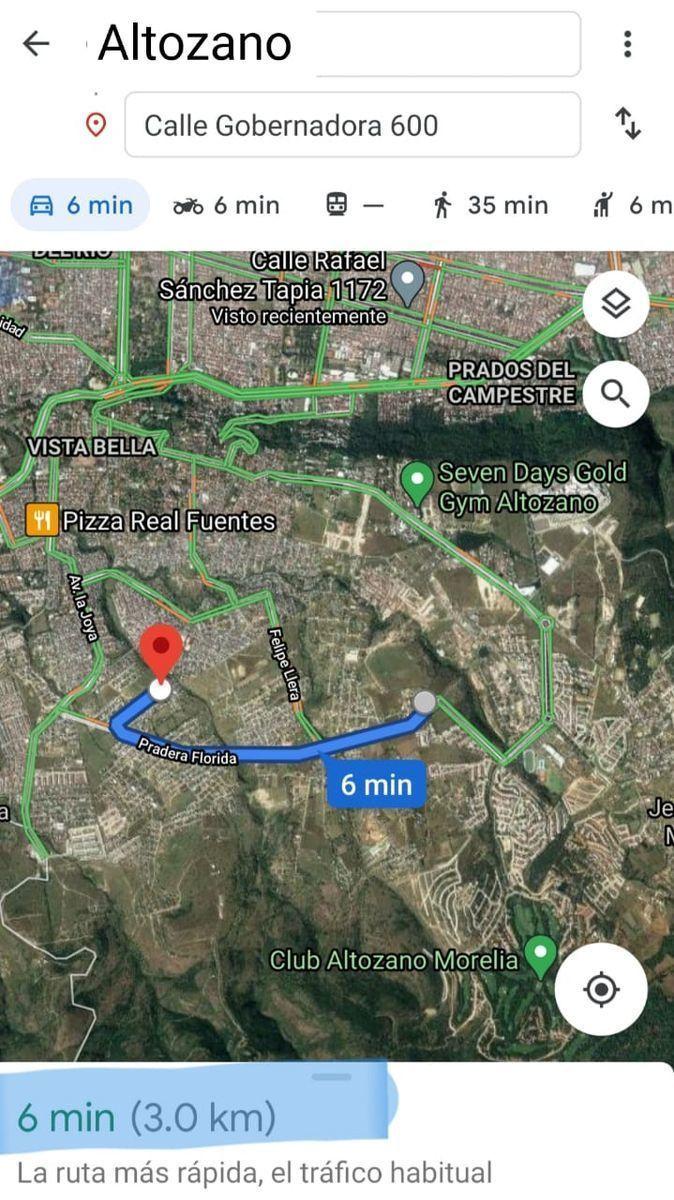 16 de 17: Distancia casa a Altozano