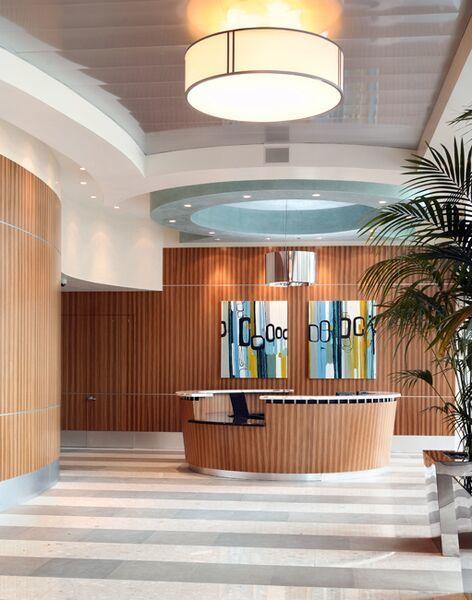 6 of 7: Lobby - reception area