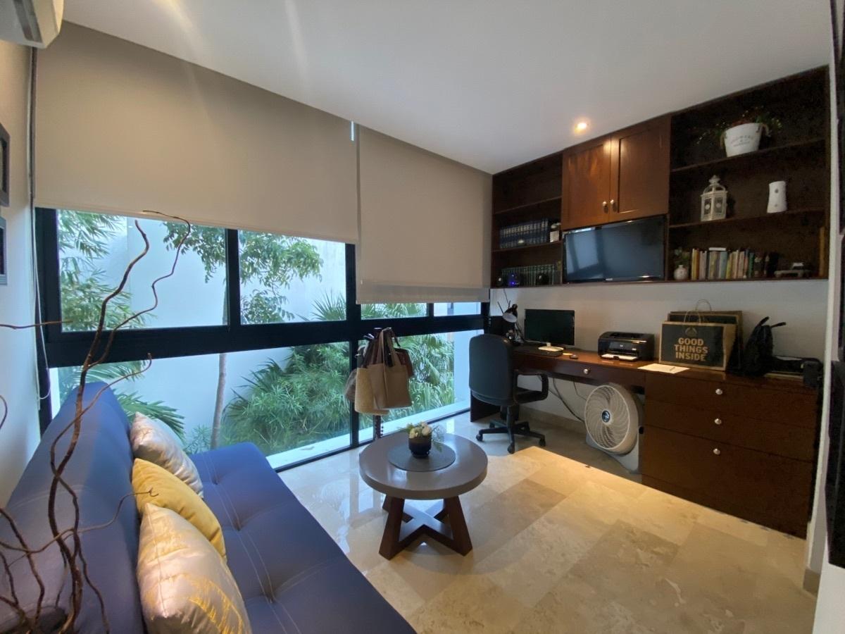 10 de 33: estudio o 3a recámara con baño y mueble home office