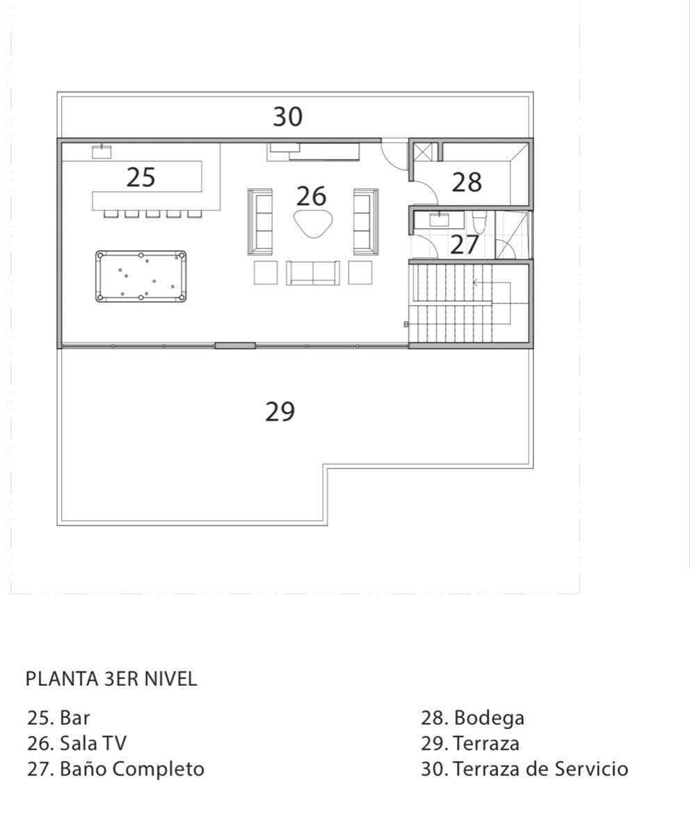 4 de 4: Tercer piso