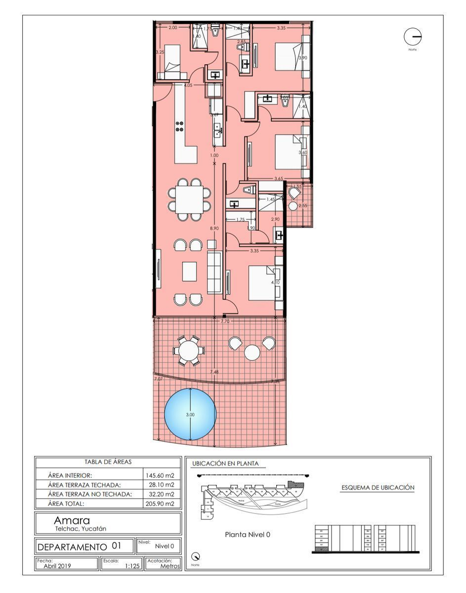 9 de 11: Planta arquitectónica