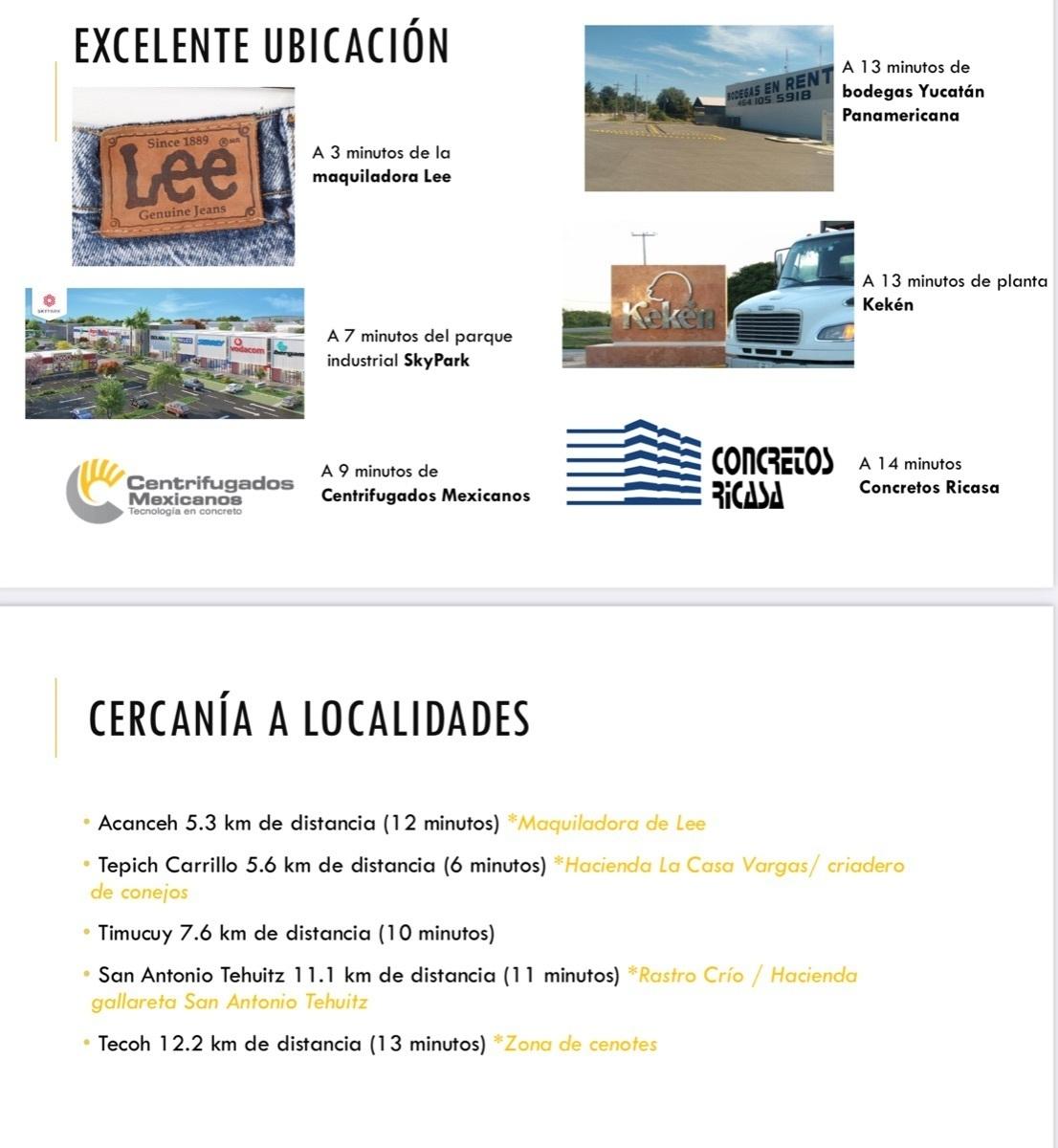6 de 6: Terreno industrial en venta en Yucatan, Chichen Realty