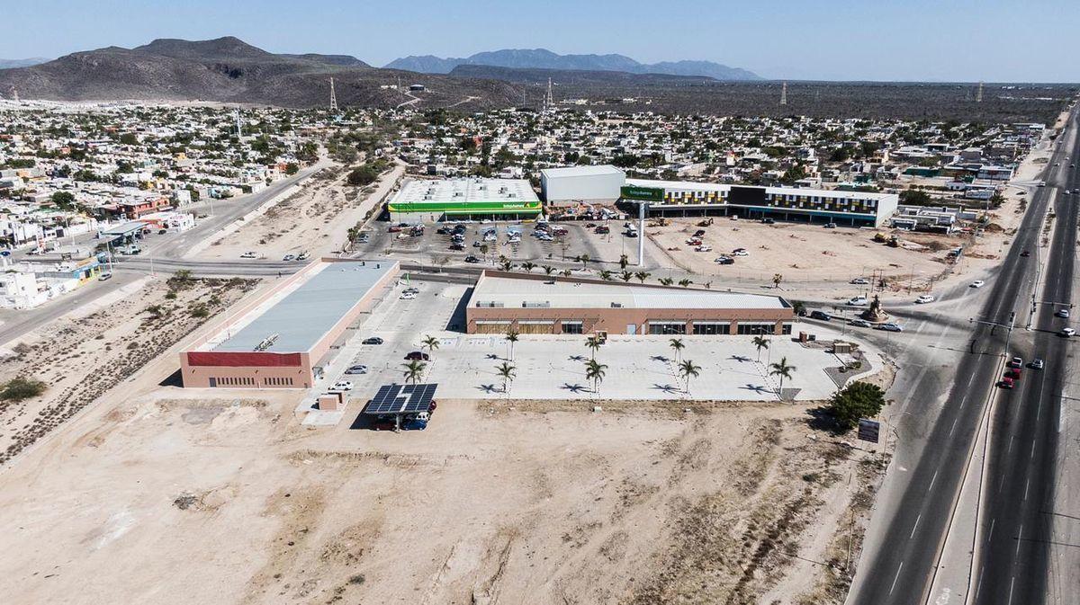 4 de 9: Vista aérea de la plaza