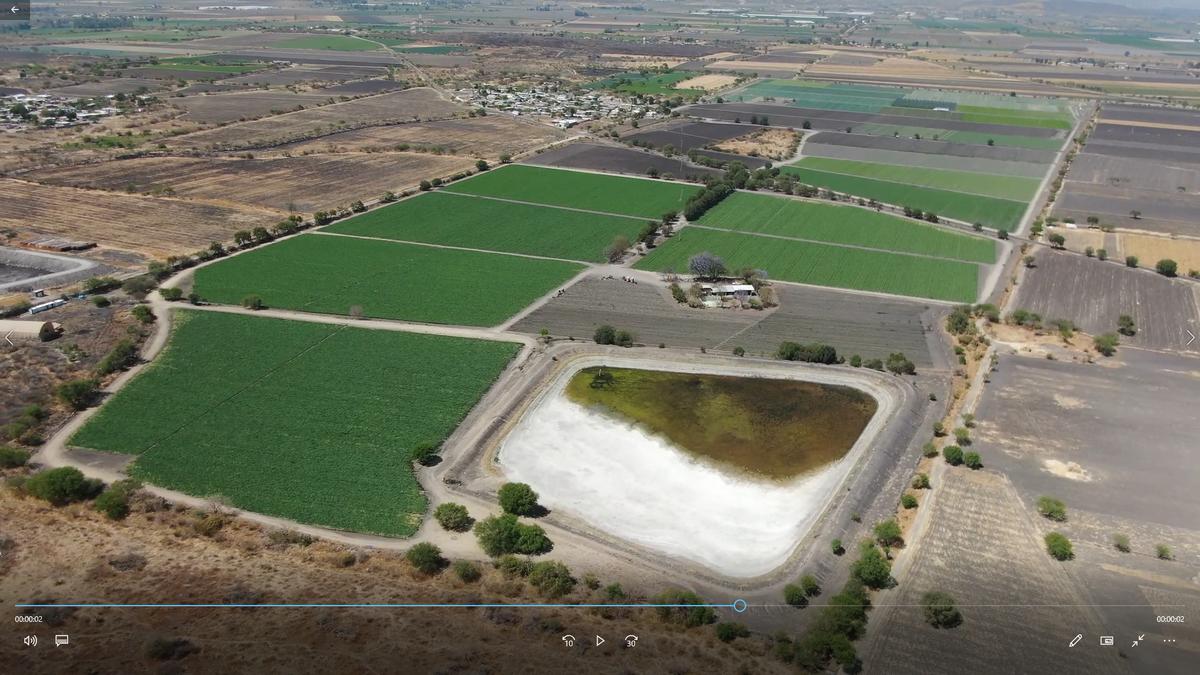3 de 9: Vista aérea del rancho